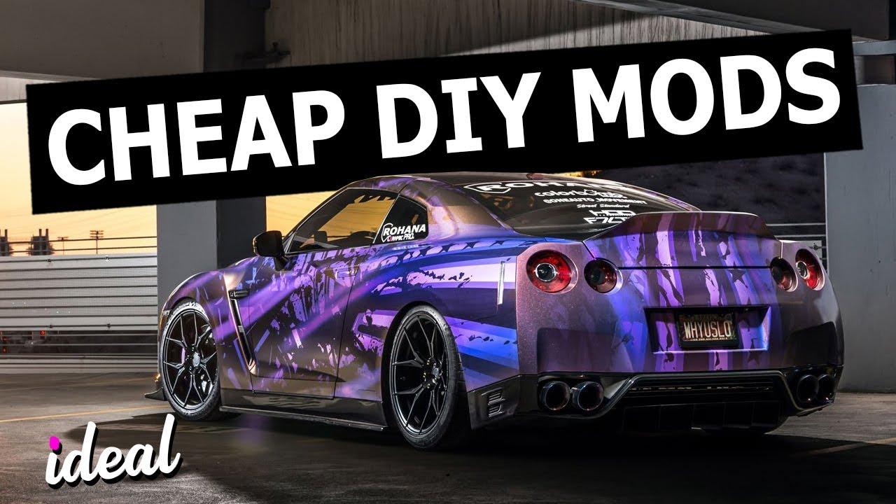 Mods de voiture bricolage bon marché qui font une énorme différence! + vidéo