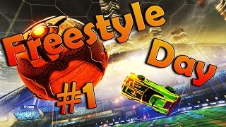 Дождались! (Goals,Fails&FunnyMoments) | Freestyle Day #1 | Rocket League