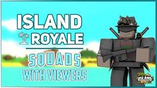 🔴 [Live] Roblox Island Royale 🌴 Vip Server Scrims avec les téléspectateurs! [New Pyramids/Edits Update]🔴