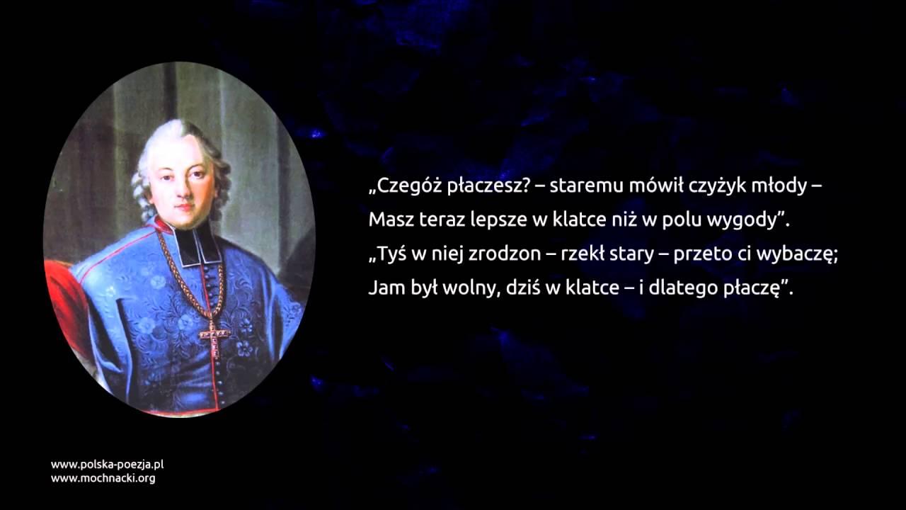 Ignacy Krasicki Ptaszki W Klatce