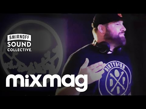 CLAUDE VONSTROKE chunky house DJ set in The Lab at Smirnoffhouse
