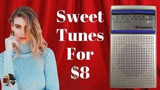 $8 Panasonic RF-503 AM FM Classic Radio Review