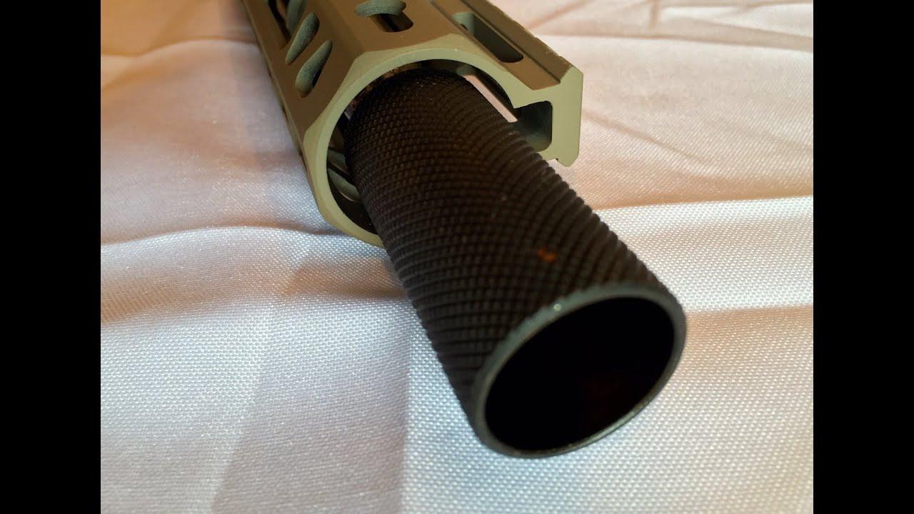 GRG 1/2x28 threaded for 223/556 steel sound forwarder muzzle brake comp  flash can