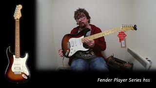 Fender Player Series hss review