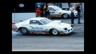NHRA Drag Racing Winternationals & World Finals 1981 to 1984