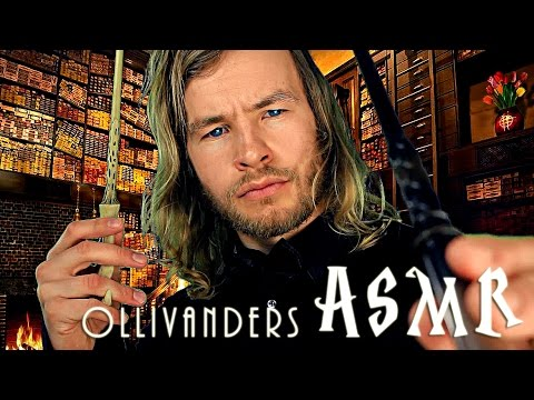 Ollivanders Wand Shop ✭ASMR ✮✰⭐ with the Rude English Gentleman ☆ ft.ASMRrooms
