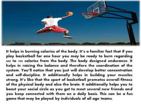 Benefits Of Playing Basket Ball