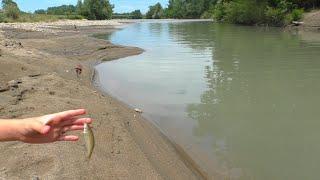 Рыбалка как в детстве на реке Белой