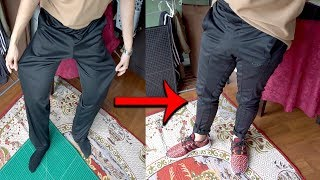 Trackpants to Techpants, squat game ridiculous | Let