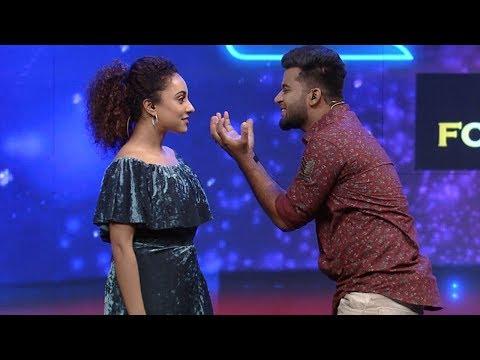 Nayika Nayakan l Romantic steps of Dane and Pearly I  MazhavilManorama