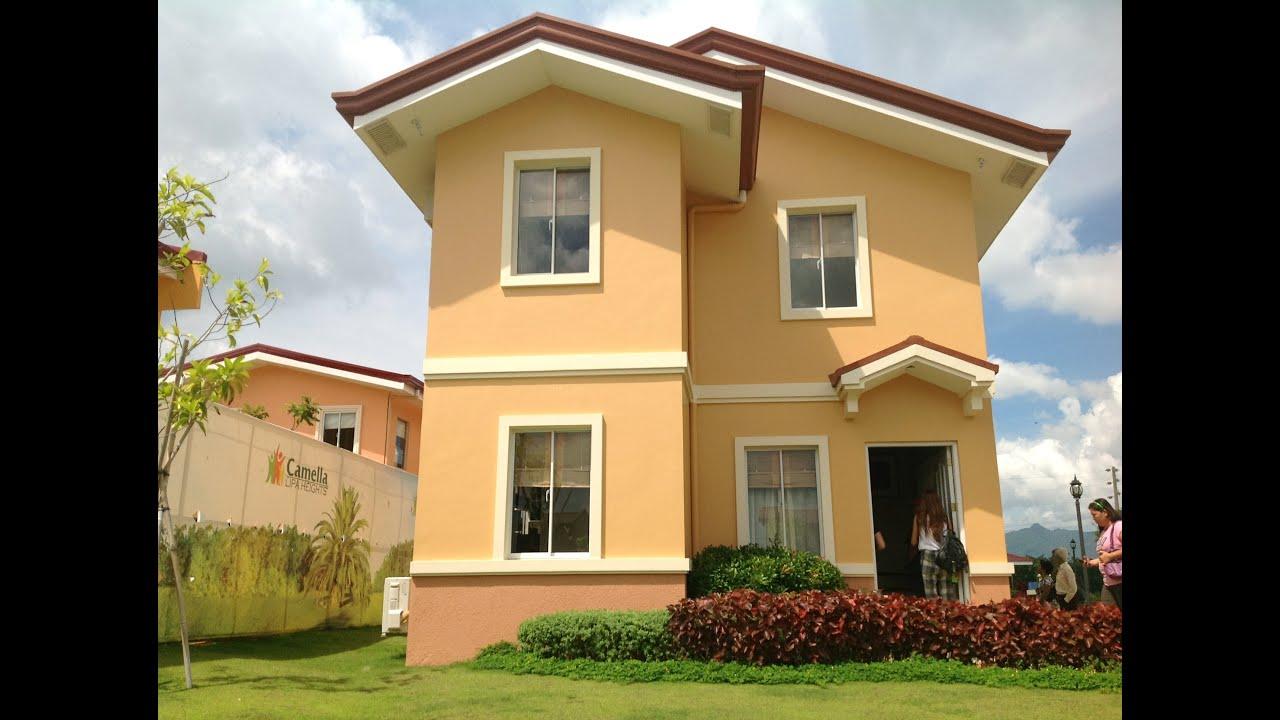 Carmela model house camella lipa model