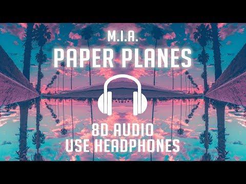 M.I.A. - Paper Planes (8D AUDIO) 🎧