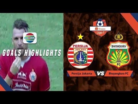 Persija Jakarta (1) vs Bhayangkara FC (1) - Goal Highlights | Shopee Liga 1
