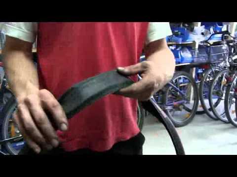 Fahrradreifen mantel flicken
