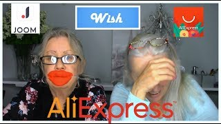 Two Grannies Chat &  Haul AliExpress, Joom, and Wish!