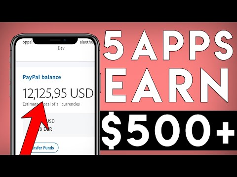 BEST Apps That Pay You PayPal Money 2020