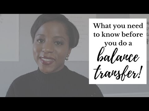What You Need To Know Before You Do A Credit Card Balance Transfer!