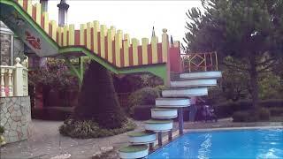 Обзор территории отеля гостевой дом Замок у моря, Головинка, Лазоревское, Сочи