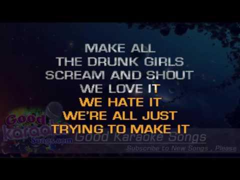 Crazy Town  - Jason Aldean (Lyrics Karaoke) [ goodkaraokesongs.com ]