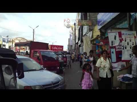 Daily Life for Sri Lankans, in Kalutara, Sri Lanka - Street Scenes.