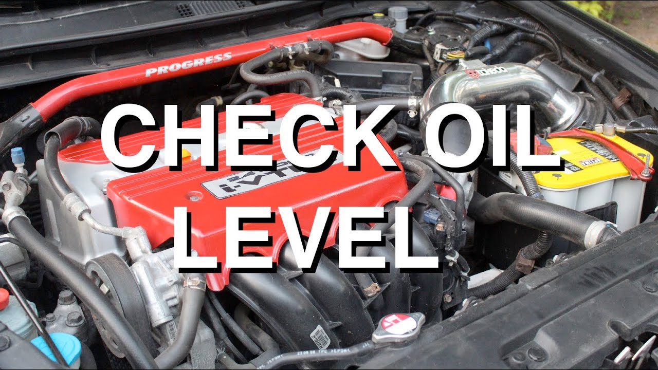 Check Oil Hot Or Cold >> When Is The Best Time To Check The Oil Level In A Car Car From Japan