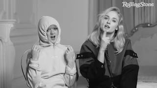 First times show with sophie turner and maisie williams new interview 2019