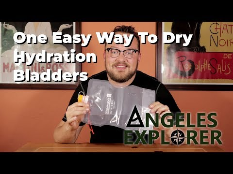One Easy Way To Dry Hydration Bladders!