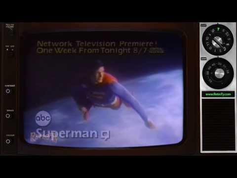 1982  - ABC - Superman Network Television Premiere