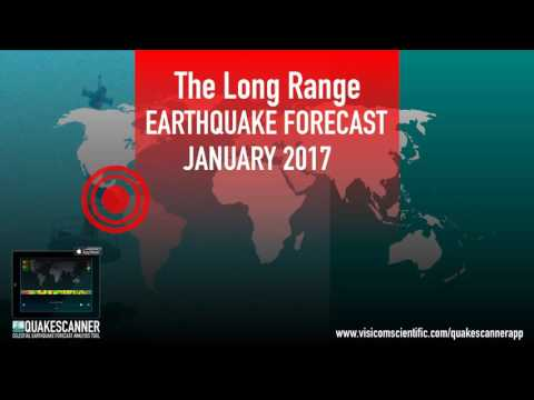 January 2017 Long Range Earthquake Forecast and Space Weather Outlook for January 2017 Audio HD