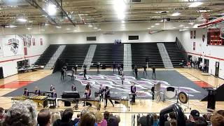 Minnesota Brass 2012 Winter Drumline + Colorguard competition Part 1.mov