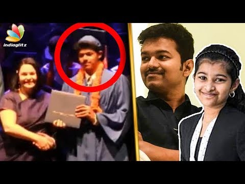 Vijay Son's High School Graduation | Sanjay, Divya Sasha | Latest Tamil Cinema News thumbnail