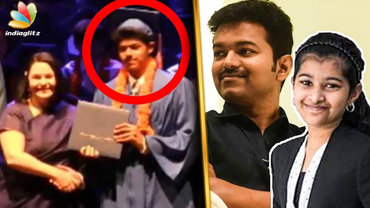 Vijay Son's High School Graduation | Sanjay, Divya Sasha | Latest Tamil  Cinema News