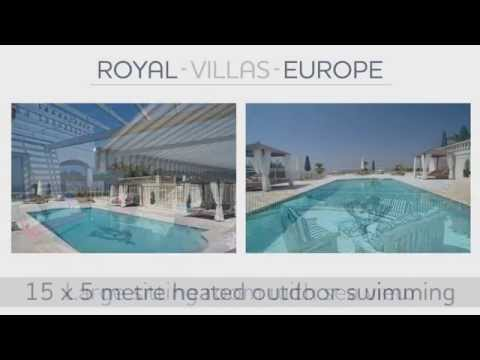 Bespoke Villa Rental Cote d'Azur Cannes with Home Cinema, Games Room, Gym and Private Spa