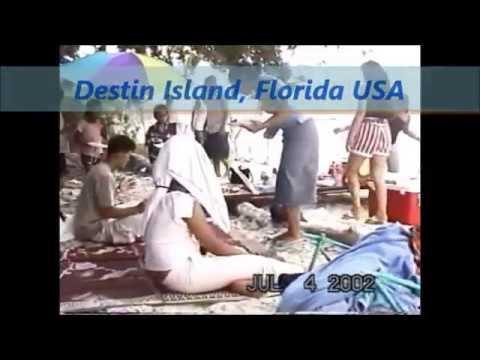 7/04/2002 My Family Vacation in Panama City & Destin, Florida Part 1