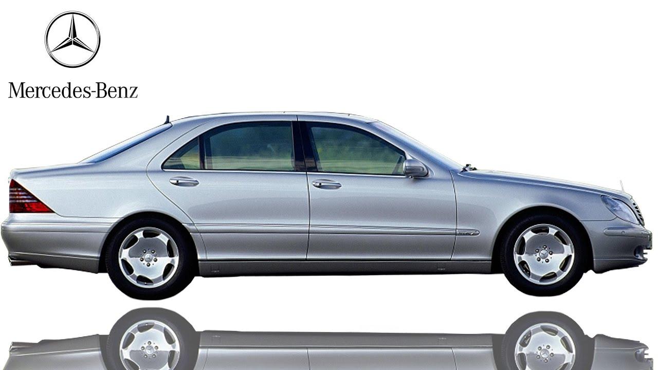 2002 mercedes benz s 600l v220 sedans doovi. Black Bedroom Furniture Sets. Home Design Ideas