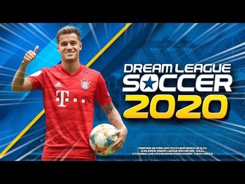 ATUALIZARAM!! Dream League Soccer 2020 COM PHILIPPE COUTINHO NO BAYER DE MUNIQUE E NOVOS JOGADORES