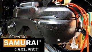 How to paint Mio Sporty Crankcase TOP COVER | SAMURAI PAINT