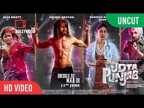 UNCUT - Udta Punjab Official Trailer Launch   Shahid Kapoor, Alia Bhatt, Kareena Kapoor, Diljit