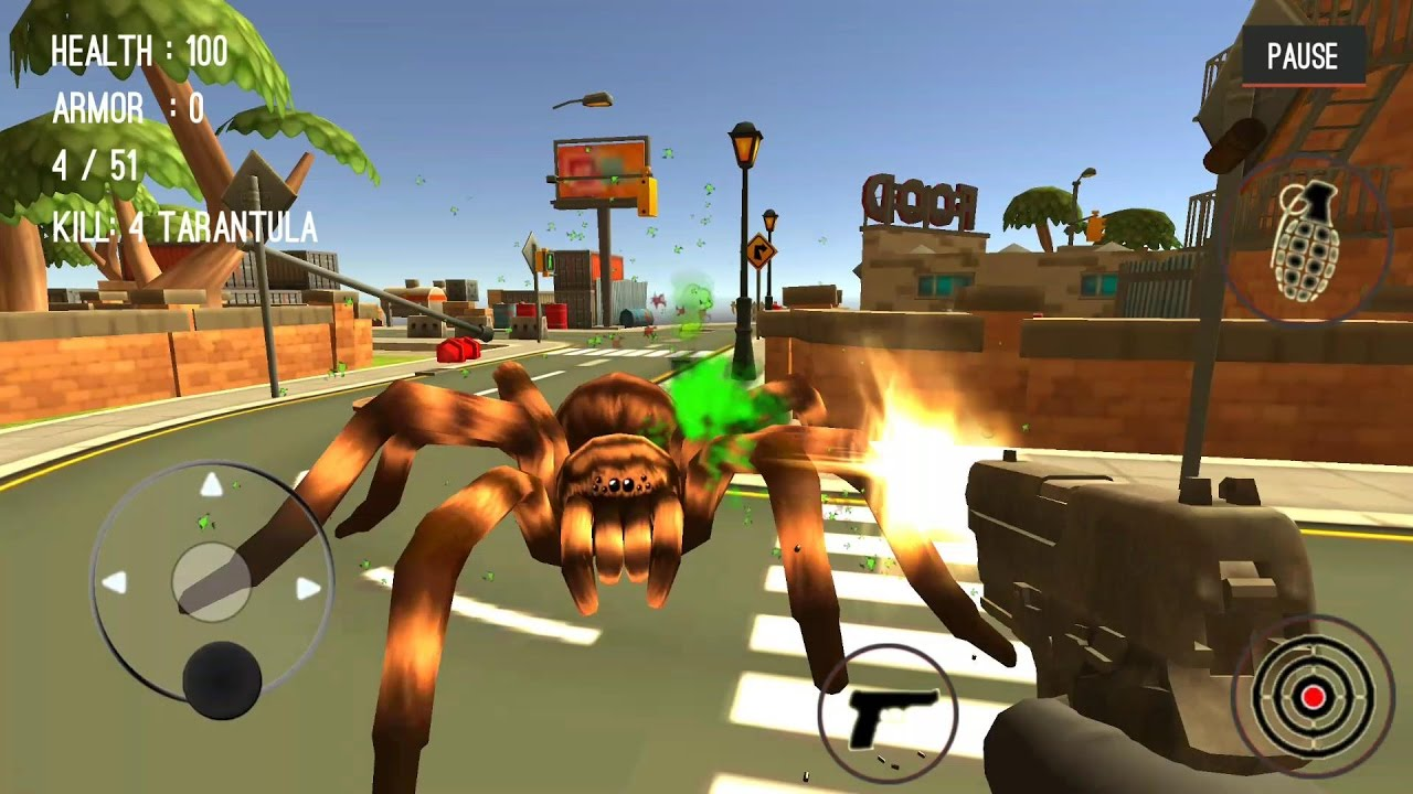 Spider Hunter Amazing City 3D Android/IOS gameplay