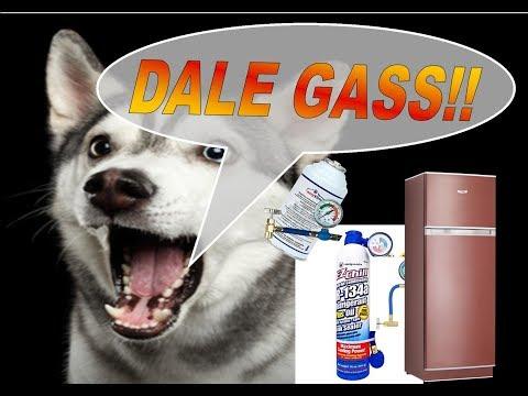 Como Cargar Gas A Una Heladera Con Frezzer Parte 1 How To Charge Gas To A Refrigerator