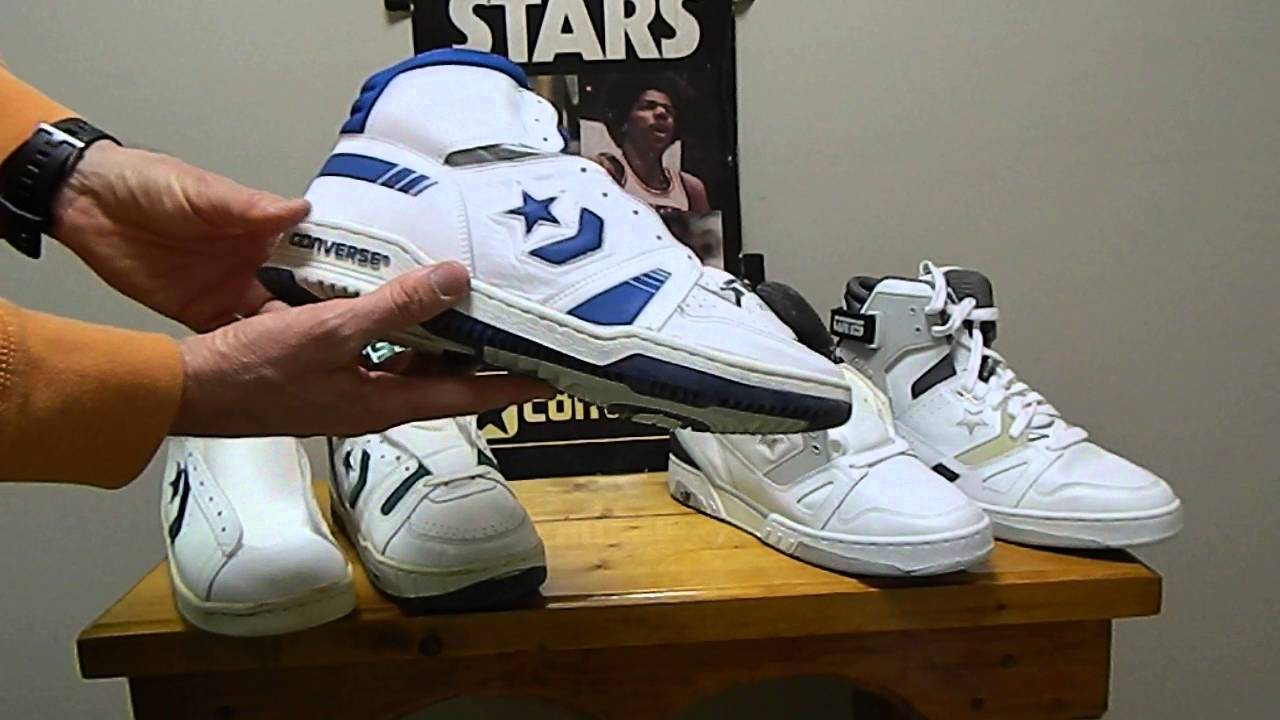 821f949599ef Vintage 1980 s Converse Basketball shoe collection - YouTube