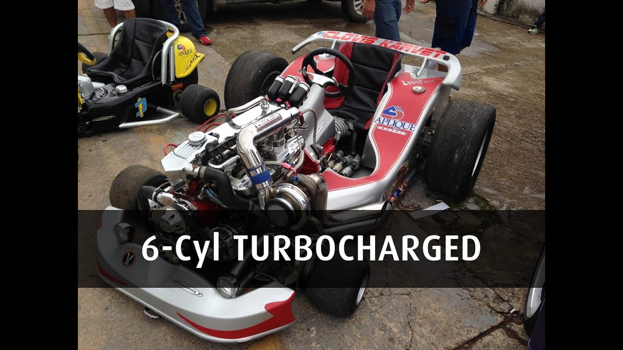 Go Kart With 4 1 6 Cyl Turbocharged Engine Youtube