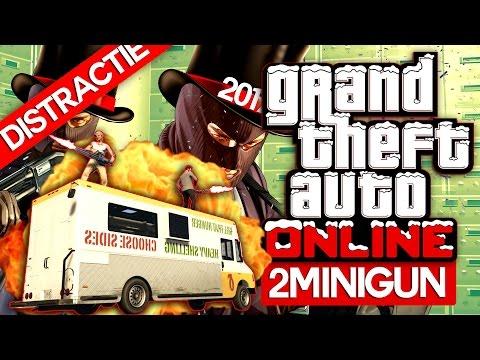 2 X MiniGun Pe Masina, Haos si Distractie | GTA Online