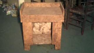 Primitive Country Furniture: Mini Dry Sink