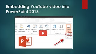 Video How To Embed a YouTube Video into a PowerPoint 2013 download MP3, 3GP, MP4, WEBM, AVI, FLV Maret 2018
