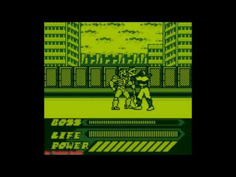 Mighty Morphin Power Rangers: The Movie (Game Boy) - (All Bosses | Hard Difficulty)