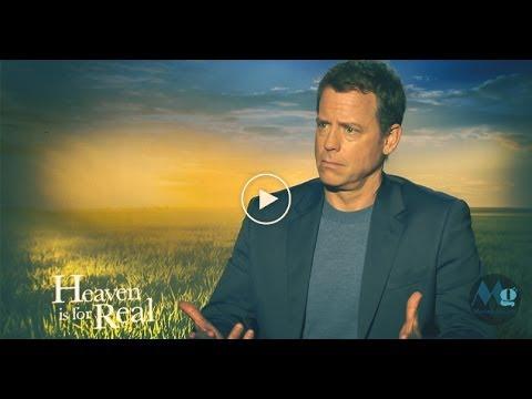 HEAVEN IS FOR REAL Interviews; feat: Greg Kinnear & Randall Wallace