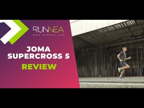 Joma SuperCross 5: Amortiguación y sujeción a buen precio