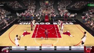 NBA2k15 PS4 MyGMゲームプレイ ブルズ デリック・ローズ VS レブロン キャブズ 【Derrick Rose】