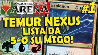 Temur Nexus OTK con Explosion #1 (MTG Arena ITA)